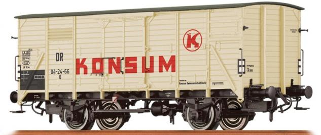 Brawa 49764 Güterwagen Konsum der DR