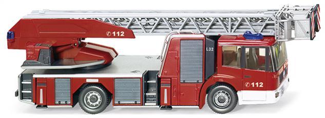Wiking 062704 Feuerwehr Metz DL32 - Vorschau 1