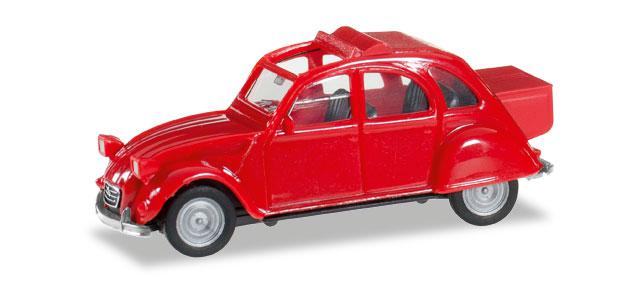 Herpa 027632-002 Citroen 2CV mit Queue 1