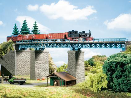 Auhagen 13325 TT Stahlbrücke im Bogen