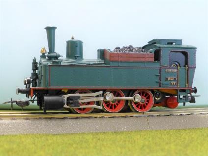DDR Piko Dampflok sächsische VT BR 89.2