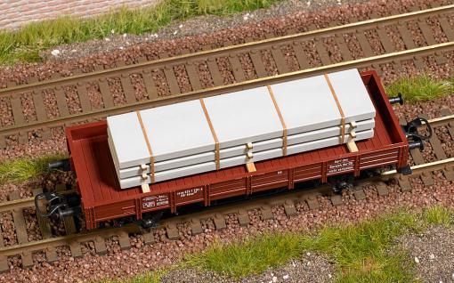 Busch 1683 Ladegut Betonplatten