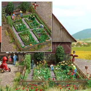 Busch 1254 Bauerngarten Gestaltungs-Set