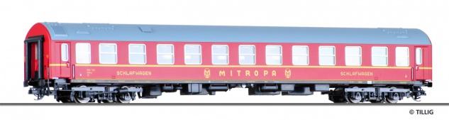 Tillig 16361 Schlafwagen MITROPA DR