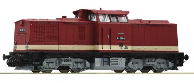 Roco H0 Diesellok BR 114 der DR