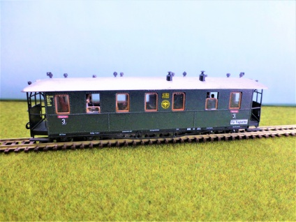 pmt 52425 H0e Traglastenwagen der DRG