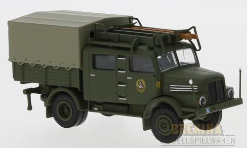 Brekina 71754 IFA S 4000-1 Bautruppwagen