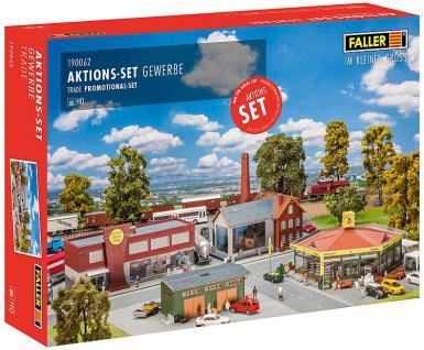 Faller 190062 Aktions-Set Gewerbe