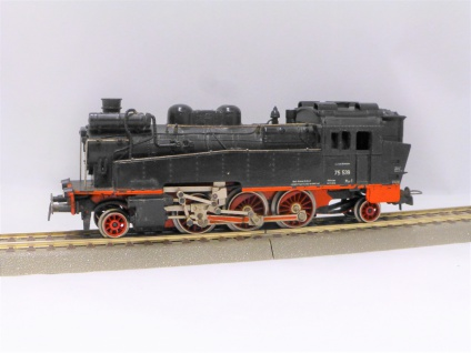 DDR Piko 190/EM16/1 Dampflok BR 75 DR