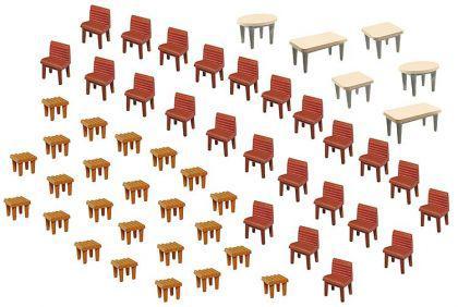 Faller 180438 Tische und Stühle
