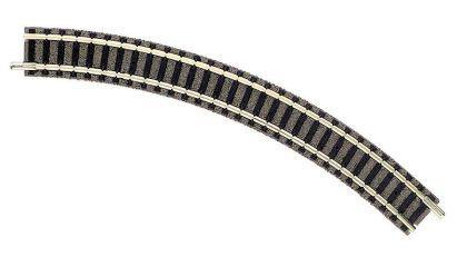 Fleischmann 9120 gebogenes Gleis R1 45 Grad