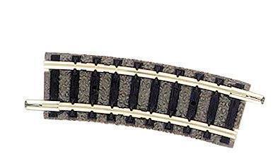 Fleischmann 9122 gebogenes Gleis R1 15 Grad