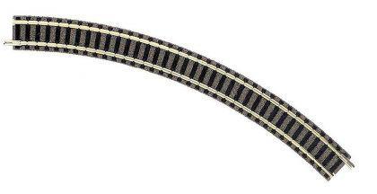 Fleischmann 9125 gebogenes Gleis R2 45 Grad
