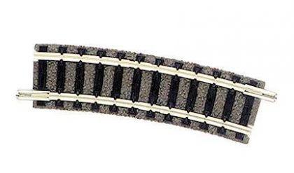 Fleischmann 9127 gebogenes Gleis R2 15 Grad