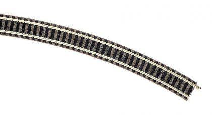 Fleischmann 9136 gebogenes Gleis R4 15 Grad