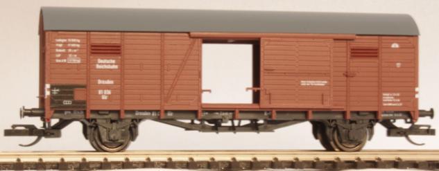 Hädl 113101-01 gedeckter Güterwagen DRG