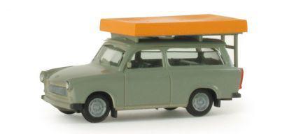 Herpa 024181 Trabant mit Dachzelt