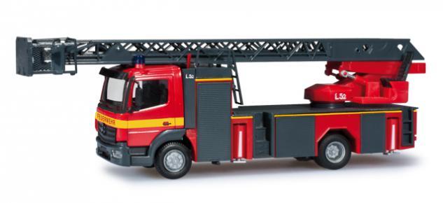 Herpa 091312 Feuerwehr Drehleiter Metz
