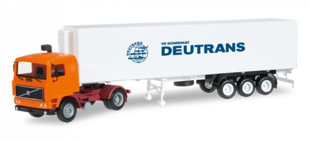Herpa 303675 Volvo Sattelzug Deutrans