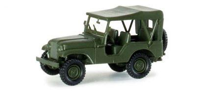 Herpa 741323 Willys Jeep