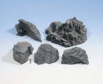 Noch 58451 Struktur-Felsstücke Granit