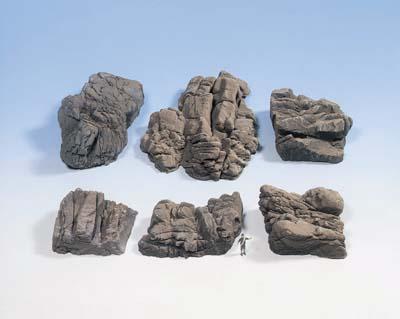 Noch 58452 Struktur-Felsstücke Sandstein