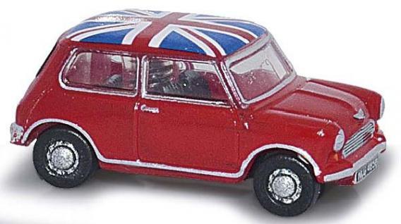 Busch 200692370 Austin Mini Union Jack