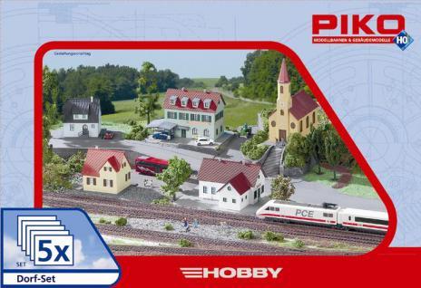 Piko 61925 Dorf-Set