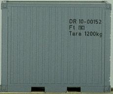PSK 6710 Set mit 10 Fuß Container der DR - Vorschau 2