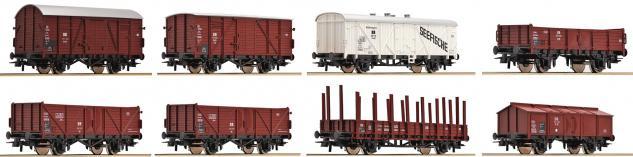 Roco 67127 Güterwagen-Set der DR