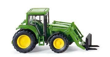 Wiking 095839 John Deere Traktor Frontgabel