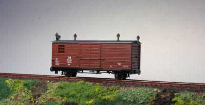pmt 54282 H0e Gedeckter Güterwagen