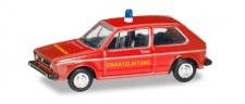Herpa 066654 VW Golf 1 Feuerwehr