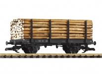 Piko 37781 Rungenwagen mit Holzladung