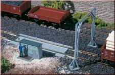 Auhagen 11404 Gleiswaage mit Lademaß