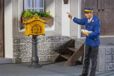 Pola 333217 Briefkasten mit Standsäule