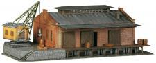 Faller 222180 Güterhalle mit Ladekran