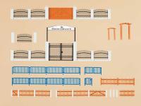Auhagen 42648 Zäune mit Tore