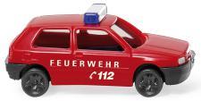 Wiking 093405 Feuerwehr VW Golf 3