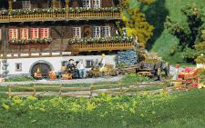 Faller 272407 Weide- und Jägerzaun