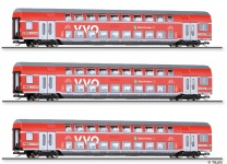 Tillig 01787 Reisezugwagenset VVO DB AG