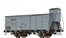 Brawa 49724 Gedeckter Güterwagen