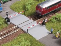 Auhagen 43655 Beschrankter Bahnübergang