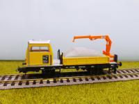 Bahndienstfahrzeug SKL mit Antrieb