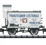 Minitrix Bierwagen Franziskaner Leistbräu