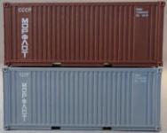PSK 6928 20 Fuß Container Morflot