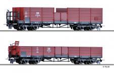 Tillig 05921 H0e Güterwagenset der DR