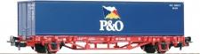Piko 57706 Containertragwagen P&O