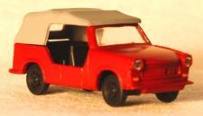 Hädl 227002 Trabant P601 Kübel Feuerwehr