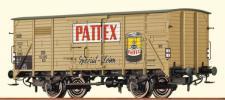 Brawa 49036 Gedeckter Güterwagen Pattex